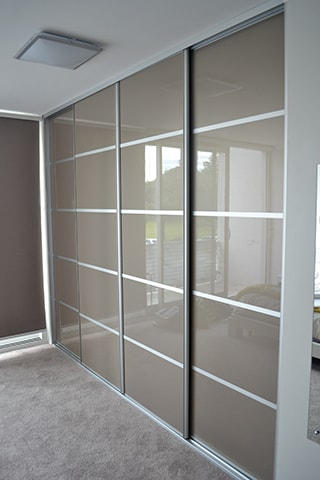 Sliding Wardrobe Doors | Five Panel Four Doors