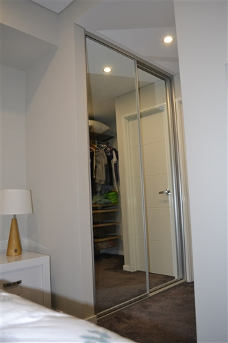 Two Sliding Doors - Full Panel Design