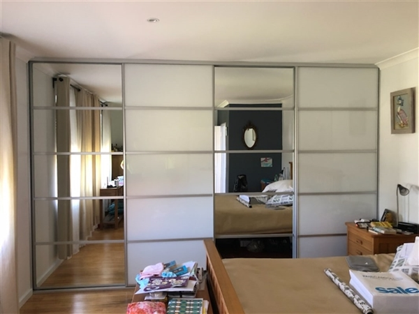 Four Standard Sliding Wardrobe Doors -  Quattro Design