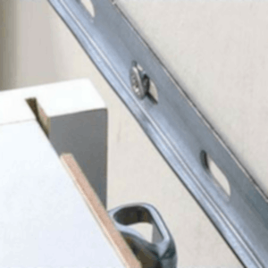 Steel Rail for Suspending Cabinets