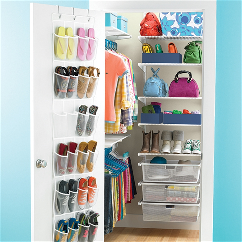 Elfa Storage And Shelving In The Childrens Rooms