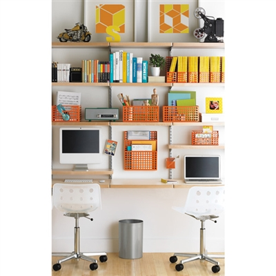 Elfa Storage And Shelving In The Craft Room