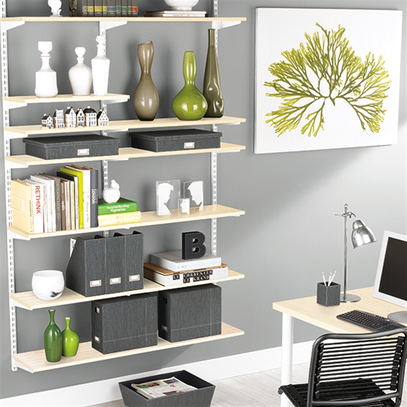 Elfa Storage And Shelving For Desks And Home Offices