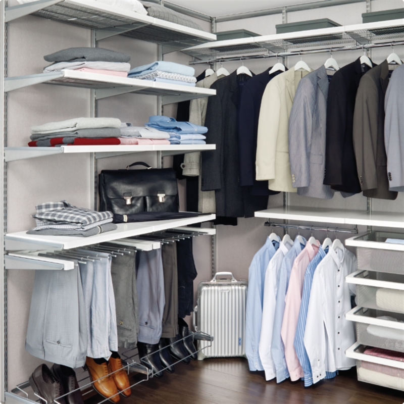 Elfa Storage Wardrobes And Walk In Robes The Wardrobe Man
