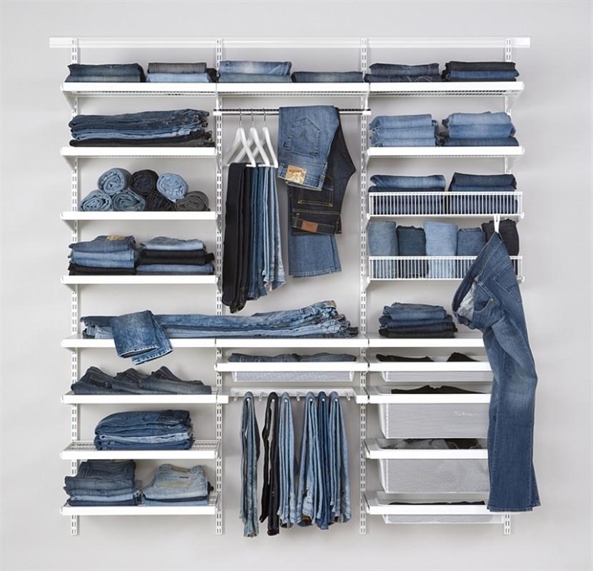 Elfa Storage Wardrobes And Walk In Robes The Wardrobe Man